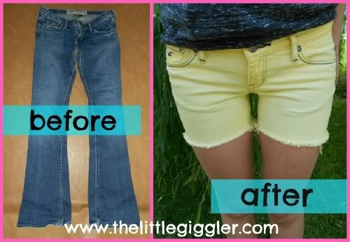Summerize Your Old Jeans Bleach Them Yourself!