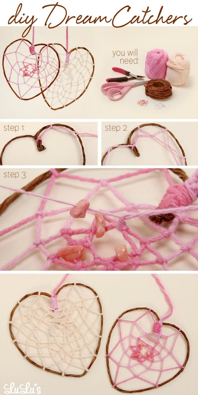 More DIY Decorating – Make Your Own Beautiful Dream Catchers