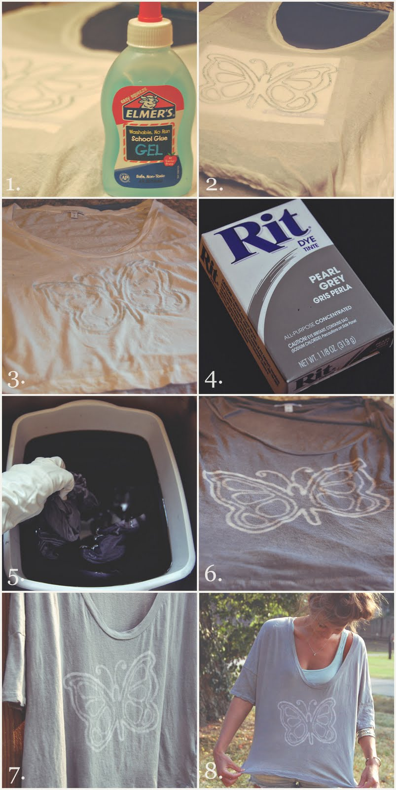 Easy DIY Watermark T-Shirt