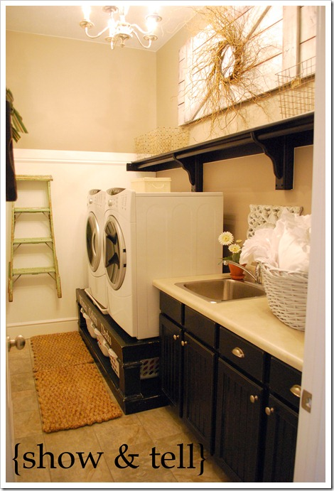 Great Laundry Room DIY Project – Make Your Own Washer/Dryer Pedestals