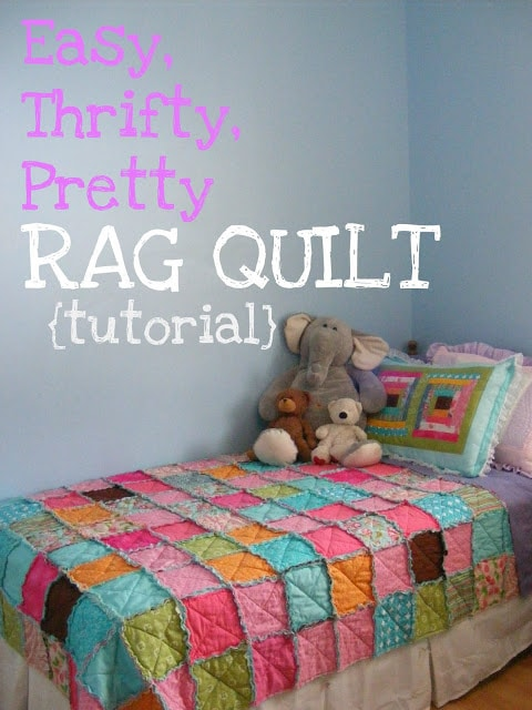 Beautiful Make It Yourself Rag Quilt – So Fun and Easy!