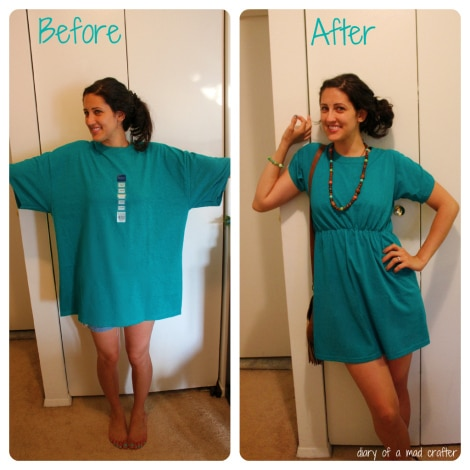Cute DIY T-Shirt Dress – A Must for the Beach This Summer!