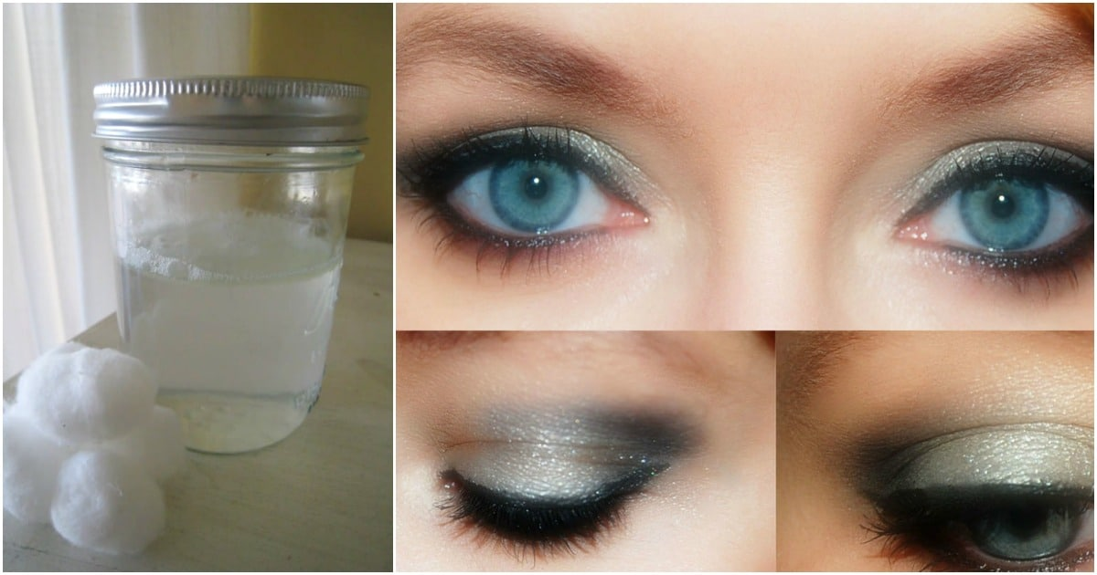 Diy Beauty Tips Simple Homemade Eye Makeup Remover Diy