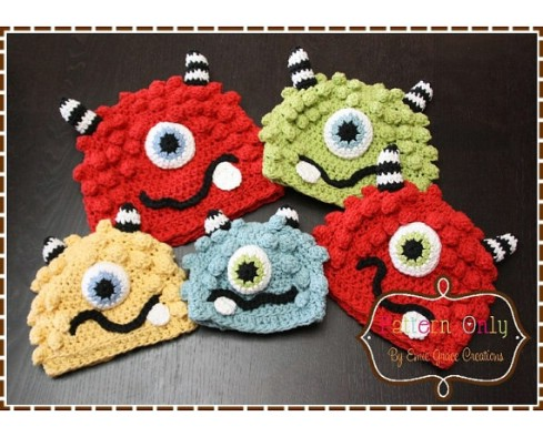 Monster Inc Hat Pattern - Top 28 Most Adorable DIY Baby Projects Of All Time