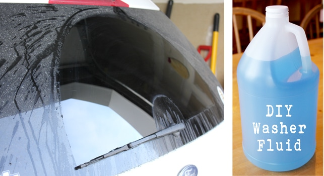 Cheap and Easy to Make DIY Windshield Washer Fluid
