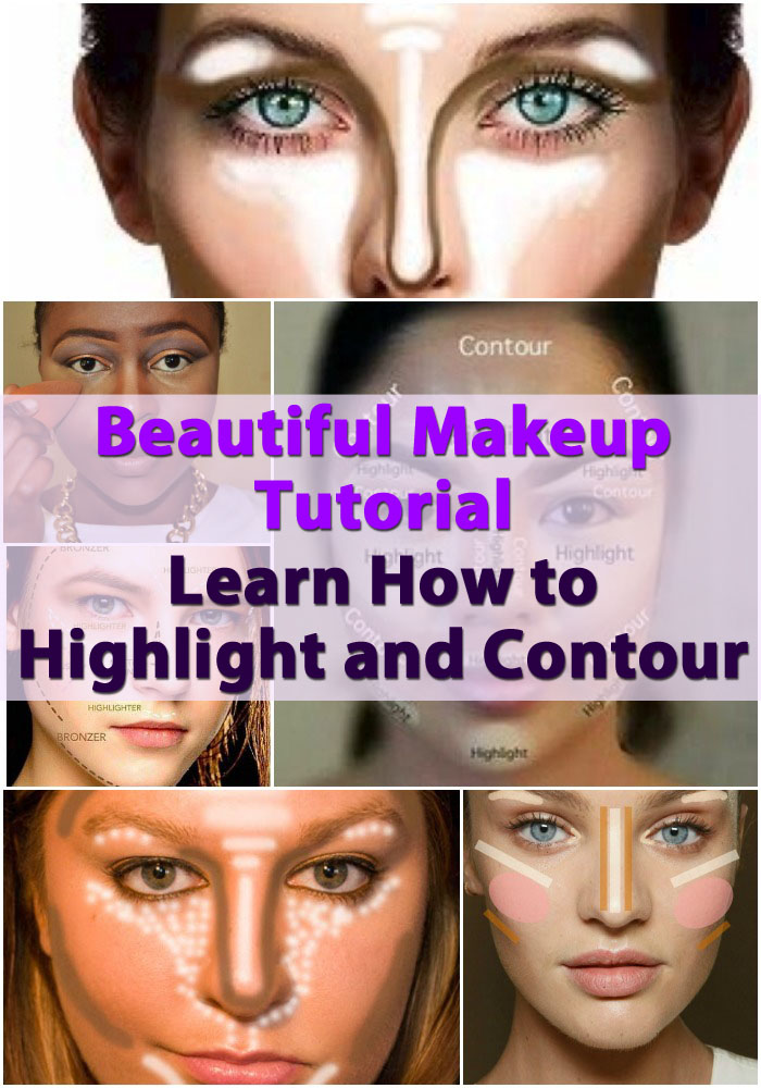 Beautiful Makeup Tutorial – Learn How to Highlight and Contour