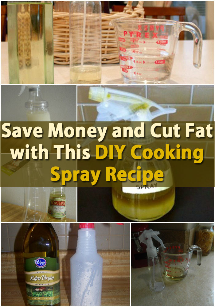 Save Money and Cut Fat with This DIY Cooking Spray Recipe