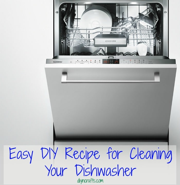 Easy DIY Recipe for Cleaning Your Dishwasher