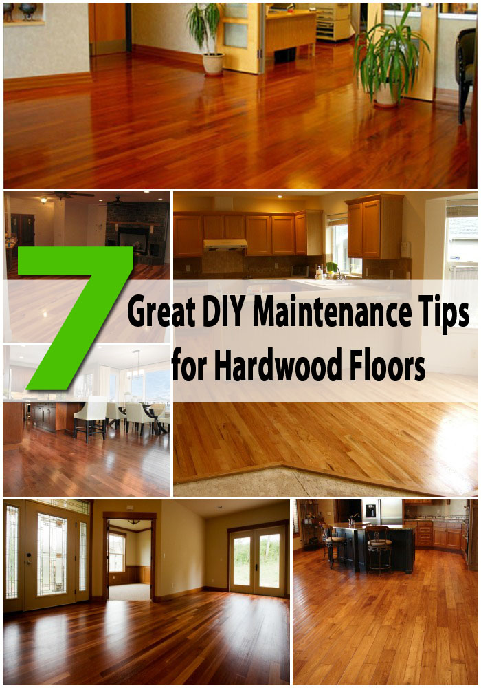 7 Great DIY Maintenance Tips for Hardwood Floors