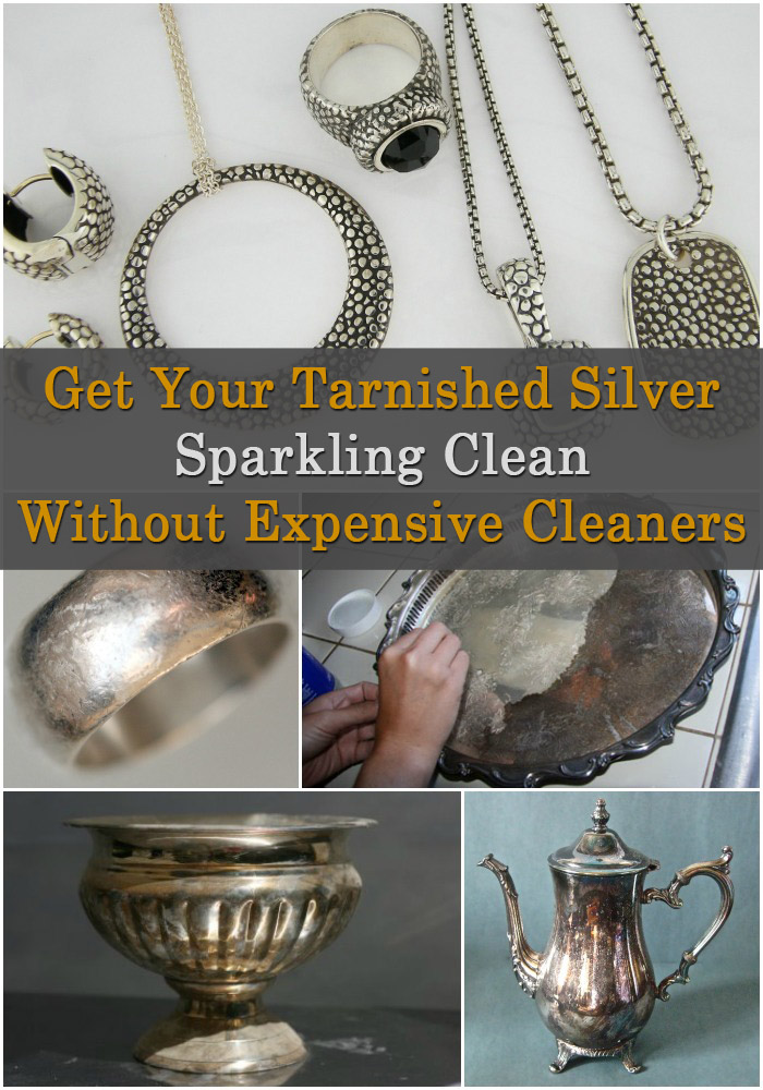 Get Your Tarnished Silver Sparkling Clean without Expensive Cleaners