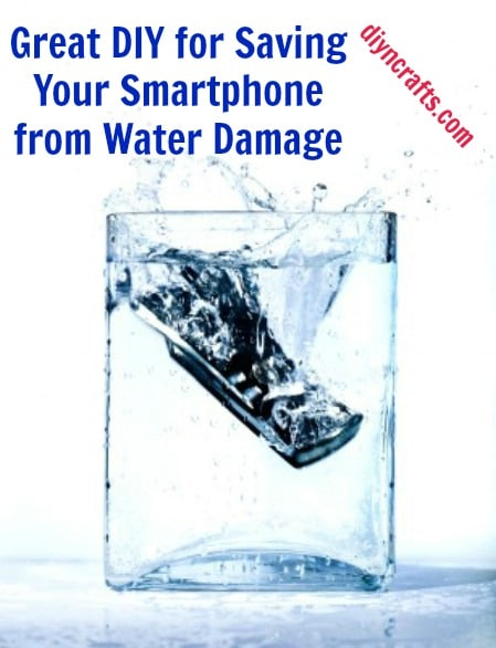 Great DIY for Saving Your Smartphone from Water Damage