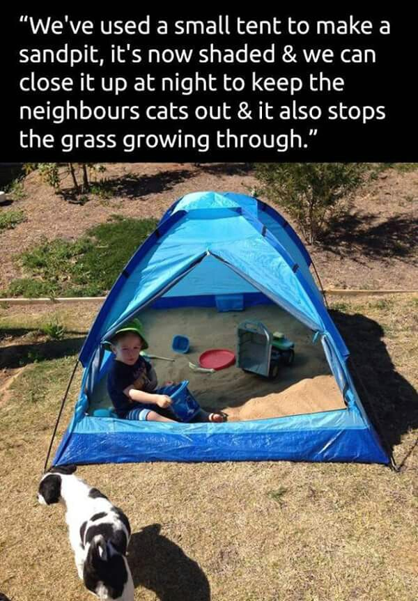 Tent playground