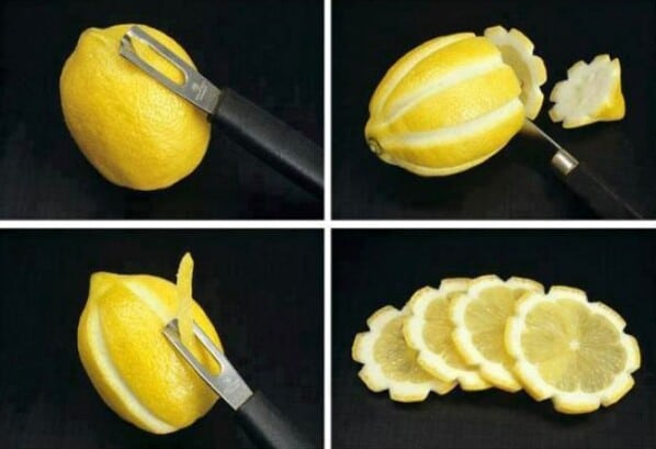 Lemon decorating