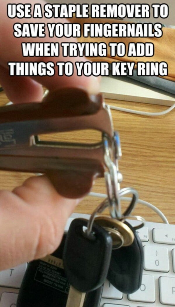 Staple keys