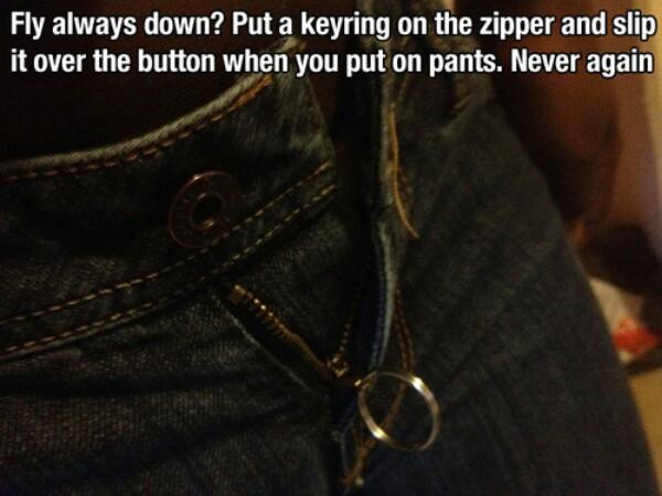 Zipper hacks