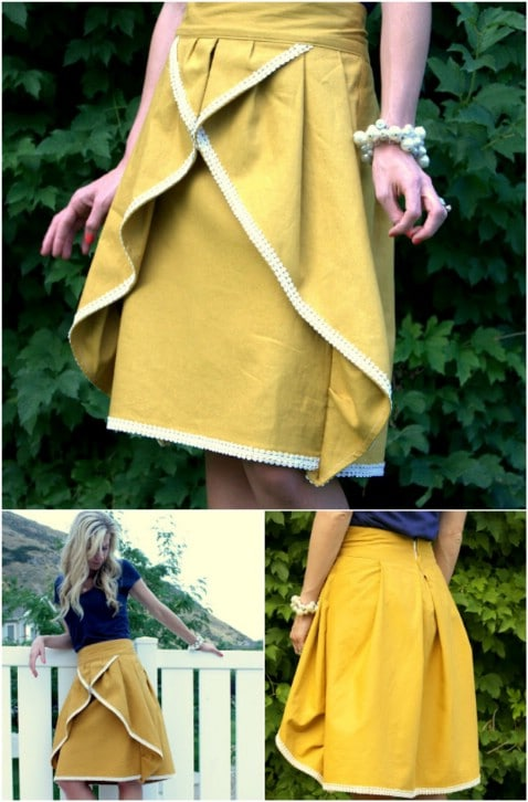 DIY Pinwheel Skirt Step by Step Instructions - Top 15 Summer Ready DIY Skirts With Free Patterns and Instructions