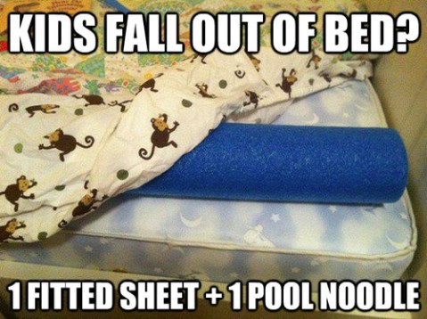 Prevent kids from falling from bed - Top 68 Lifehacks and Clever Ideas that Will Make Your Life Easier