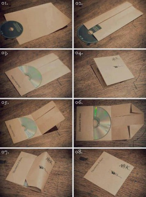 Cd-DVD holders - Top 68 Lifehacks and Clever Ideas that Will Make Your Life Easier