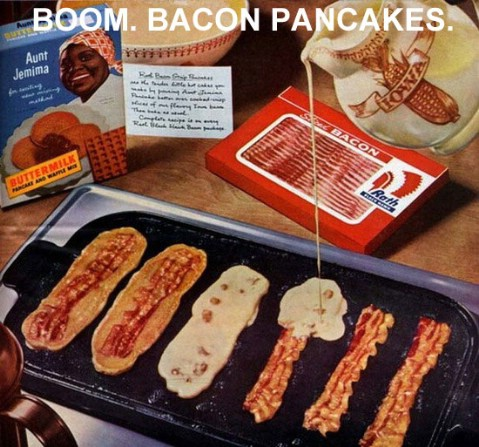 Bacon pancakes - Top 68 Lifehacks and Clever Ideas that Will Make Your Life Easier