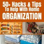 Home organization collage