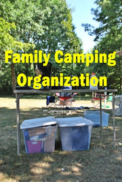 Family Camping-Packing Lists & Organzaition  - Top 33 Most Creative Camping DIY Projects and Clever Ideas