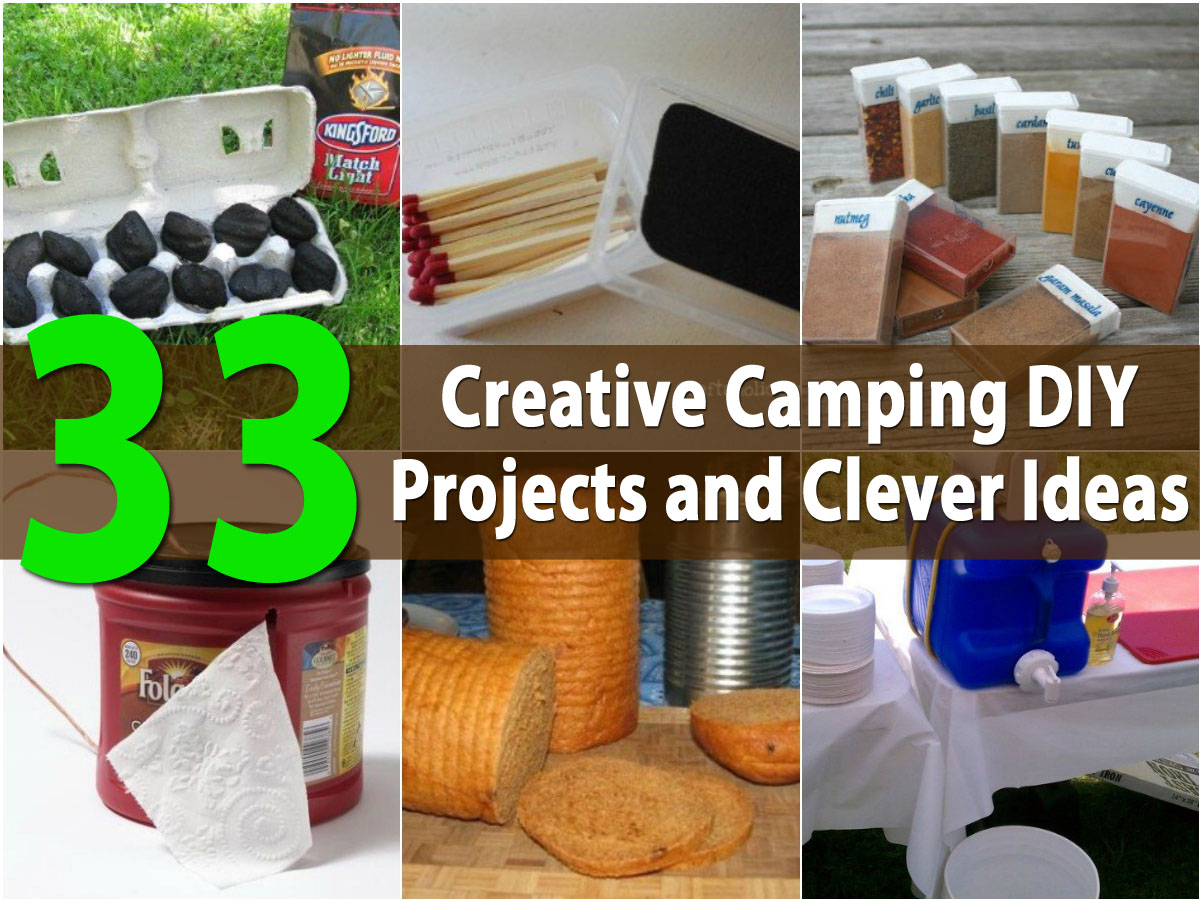 Top 33 Most Creative Camping DIY Projects and Clever Ideas ...