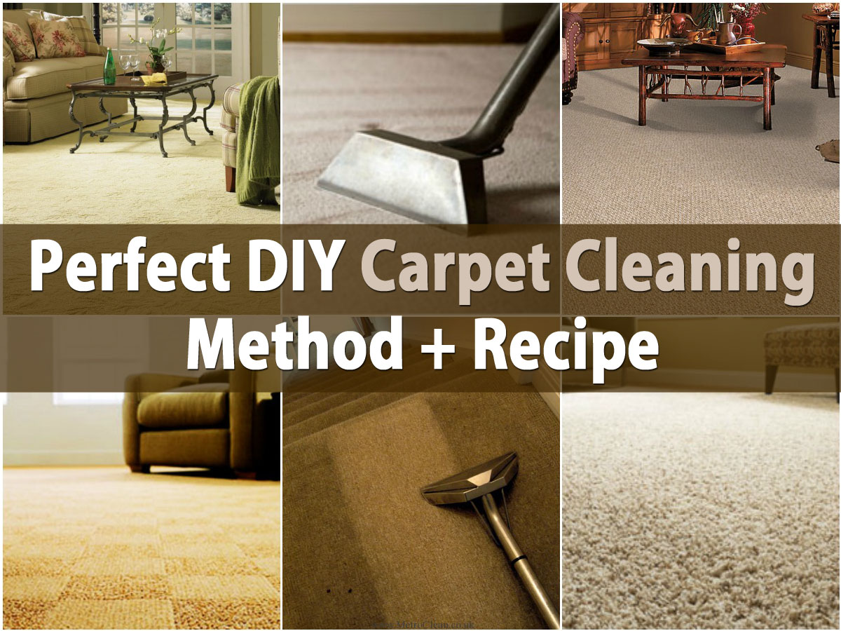 Perfect Diy Carpet Cleaning Method Recipe Diy Amp Crafts