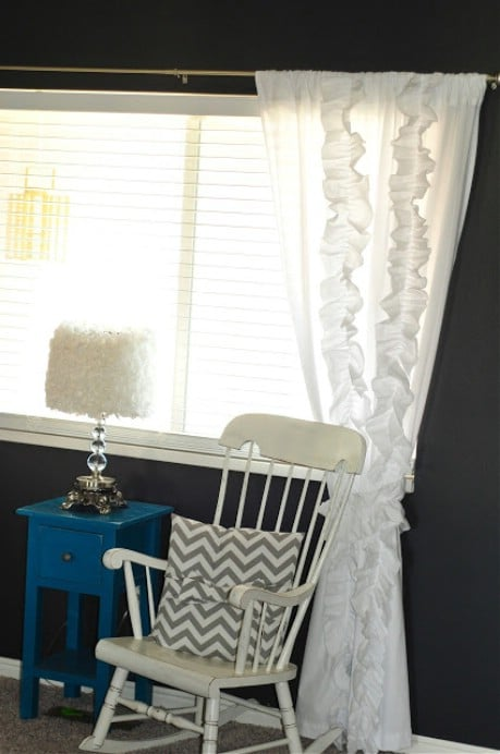 "Anthropologie ""knock off"" curtains from bed sheets! - 32 Brilliant DIY Anthropologie Knockoffs"