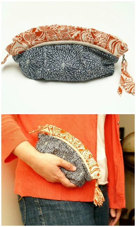 Anthro Asterid Coin Purse Knockoff - 32 Brilliant DIY Anthropologie Knockoffs