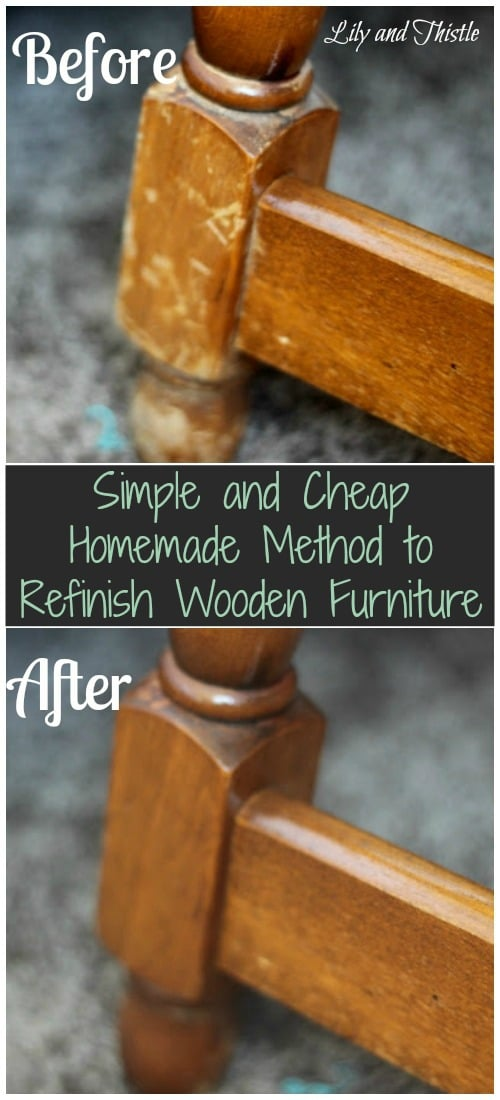 Refinish Wooden Furniture