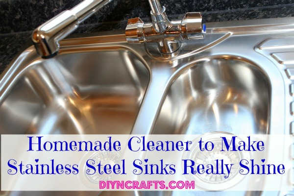 Homemade Cleaner to Make Stainless Steel Sinks Really Shine - DIY & Crafts