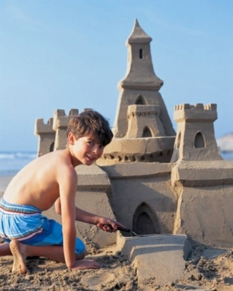 Build a Remarkable Sand Castle - 35 Summery DIY Projects And Activities For The Best Summer Ever