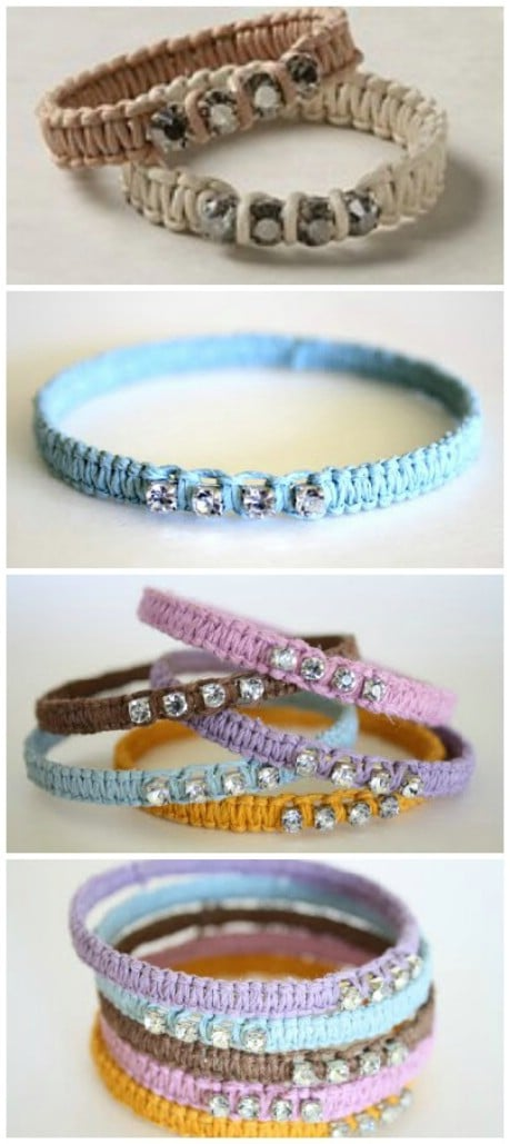 Anthropologie Terra Scintilla Bracelet Knock-Off Tutorial - 32 Brilliant DIY Anthropologie Knockoffs