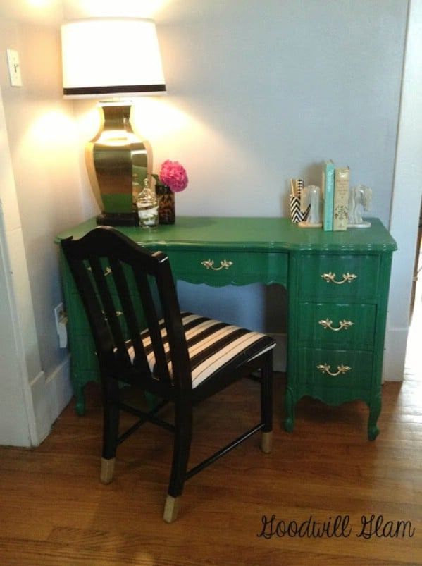 Fabulous Antique Desk Makeover - Top 60 Furniture Makeover DIY Projects and Negotiation Secrets