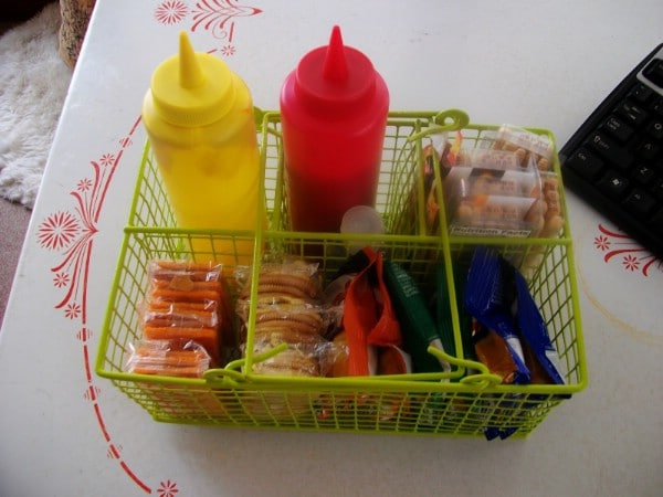 Organize Your Road Trips - 150 Dollar Store Organizing Ideas and Projects for the Entire Home