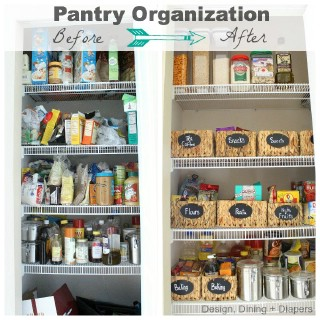 Easy DIY Pantry Transformation - 60+ Innovative Kitchen Organization and Storage DIY Projects