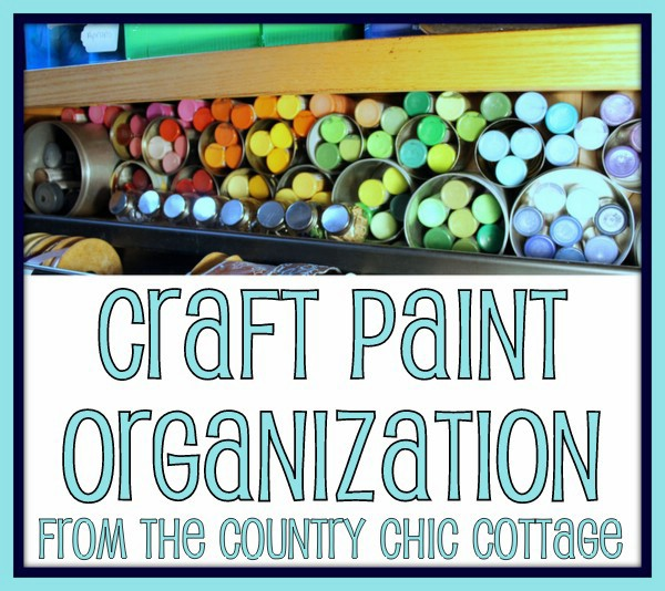 Organizing Craft Supplies with Recycled Cans - 150 Dollar Store Organizing Ideas and Projects for the Entire Home