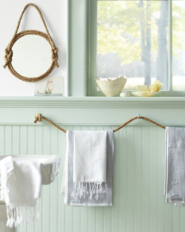 Rope-Shaped Decorations - 30 Brilliant Bathroom Organization and Storage DIY Solutions