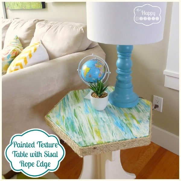 A Painted Texture Table Makeover on the Cheap - Top 60 Furniture Makeover DIY Projects and Negotiation Secrets