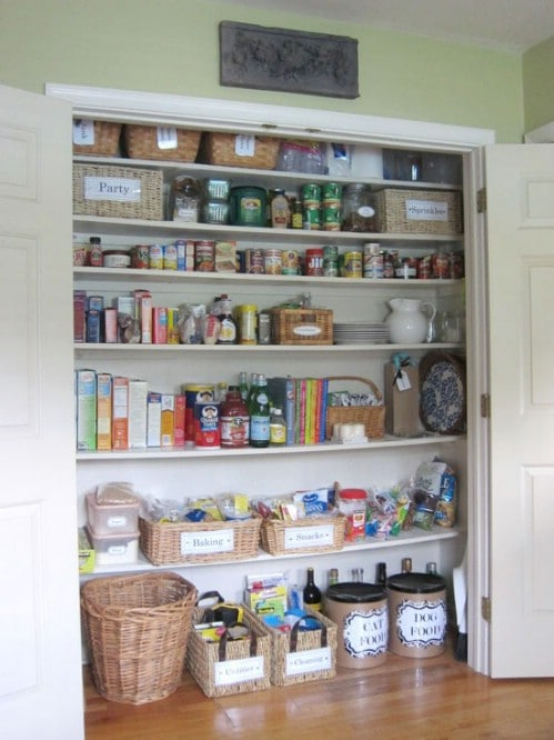 Label Everything – Free Printables - 150 Dollar Store Organizing Ideas and Projects for the Entire Home