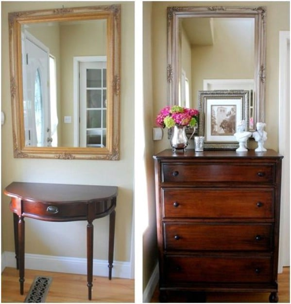 Thrift Store Highboy: Elegant UpDo - Top 60 Furniture Makeover DIY Projects and Negotiation Secrets