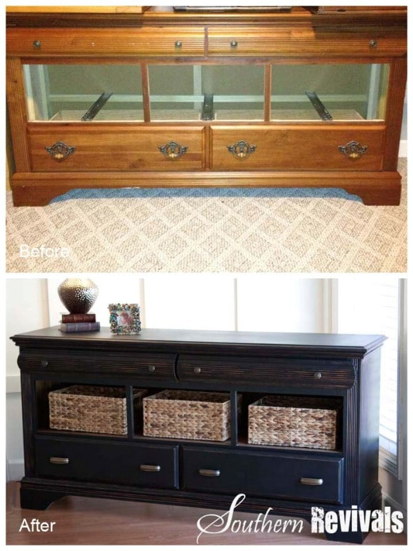Pottery Barn Style Dresser Revival - Top 60 Furniture Makeover DIY Projects and Negotiation Secrets