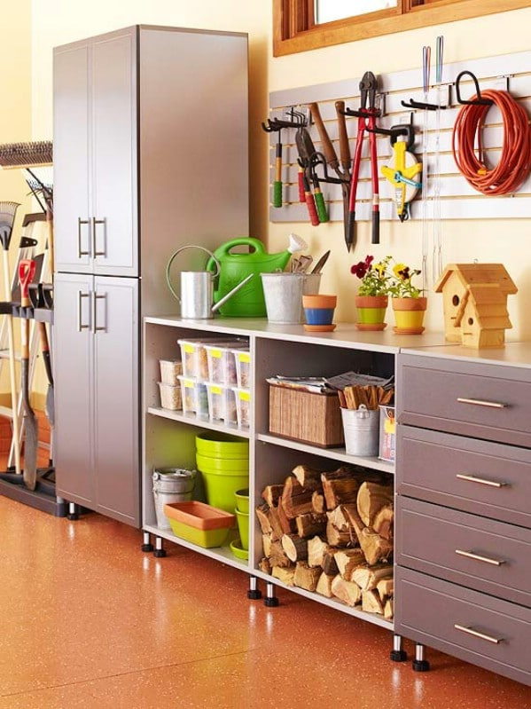One Well-Organized Wall - 49 Brilliant Garage Organization Tips, Ideas and DIY Projects