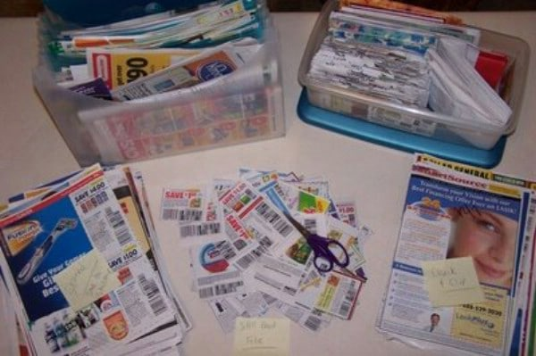 Coupon Organization Made Easy - 150 Dollar Store Organizing Ideas and Projects for the Entire Home