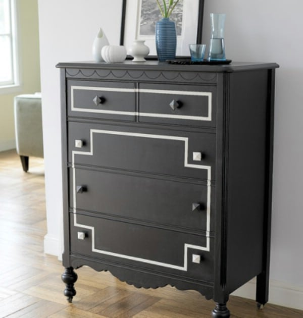 Go Dark and Dramatic - Top 60 Furniture Makeover DIY Projects and Negotiation Secrets