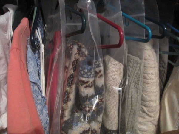 Store Sweaters Safely and Save Space - 150 Dollar Store Organizing Ideas and Projects for the Entire Home