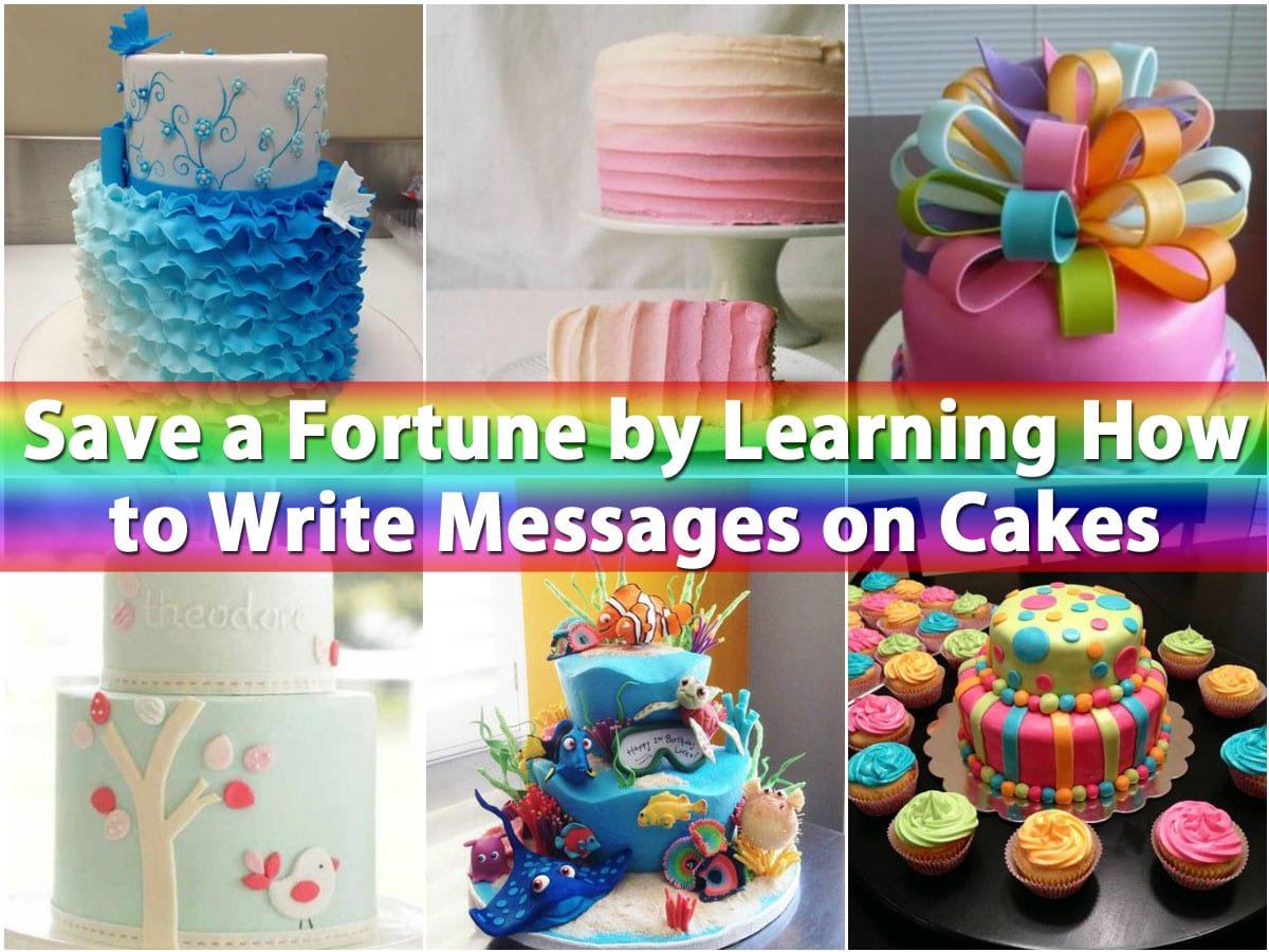 Fantastic Save A Fortune By Learning How To Write Messages On Cakes Diy Funny Birthday Cards Online Hetedamsfinfo