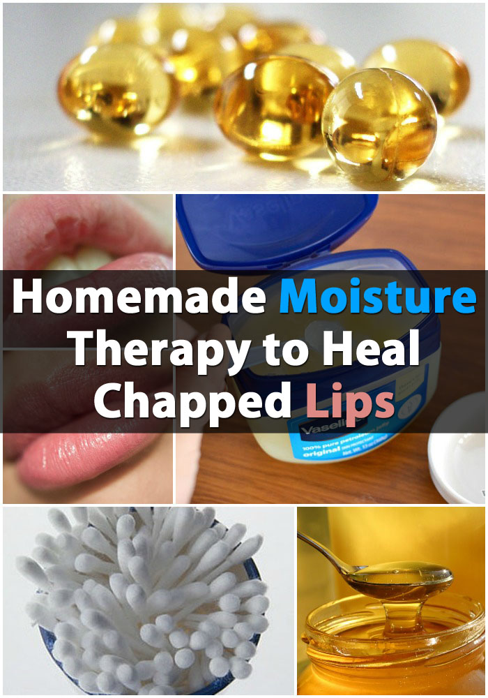 Homemade Moisture Therapy to Heal Chapped Lips