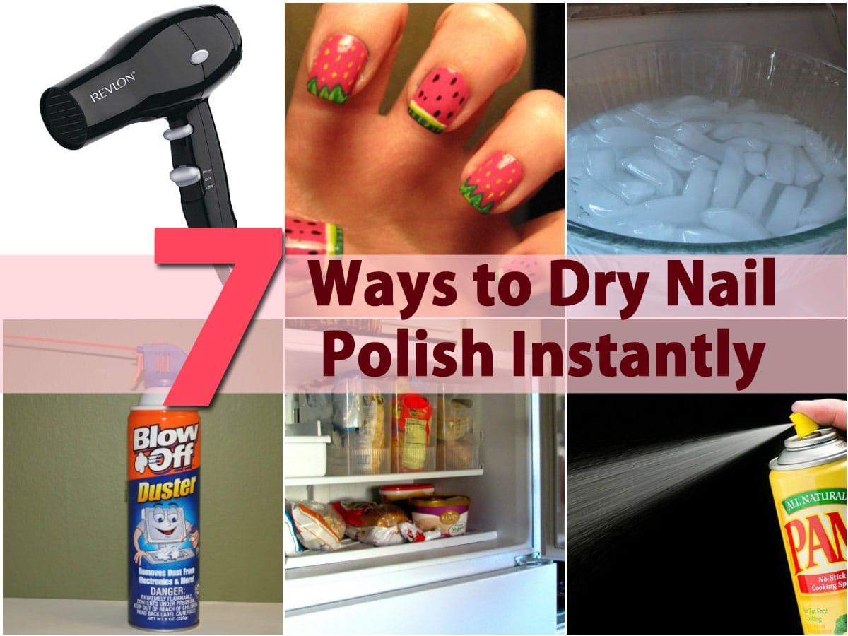 DIY Beauty Tricks   12 Ways to Dry Nail Polish Instantly   DIY & Crafts