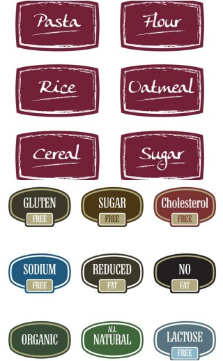 Food Label Printables
